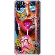 Силиконовый чехол BoxFace Samsung A105 Galaxy A10 Colorful Girl (36867-up2443)