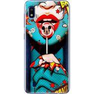 Силиконовый чехол BoxFace Samsung A105 Galaxy A10 Girl Pop Art (36867-up2444)