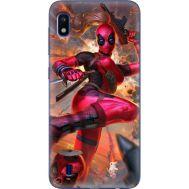 Силиконовый чехол BoxFace Samsung A105 Galaxy A10 Woman Deadpool (36867-up2453)