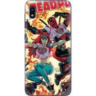 Силиконовый чехол BoxFace Samsung A105 Galaxy A10 Deadpool and Mary Jane (36867-up2454)