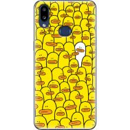 Силиконовый чехол BoxFace Samsung A107 Galaxy A10s Yellow Ducklings (37944-up2428)