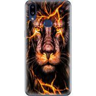 Силиконовый чехол BoxFace Samsung A107 Galaxy A10s Fire Lion (37944-up2437)