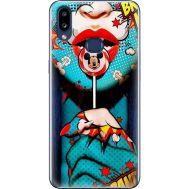 Силиконовый чехол BoxFace Samsung A107 Galaxy A10s Girl Pop Art (37944-up2444)