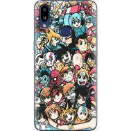 Силиконовый чехол BoxFace Samsung A107 Galaxy A10s Anime Stickers (37944-up2458)