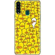 Силиконовый чехол BoxFace Samsung A207 Galaxy A20s Yellow Ducklings (38125-up2428)