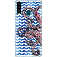 Силиконовый чехол BoxFace Samsung A207 Galaxy A20s Sea Tentacles (38125-up2430)