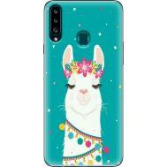 Силиконовый чехол BoxFace Samsung A207 Galaxy A20s Cold Llama (38125-up2435)