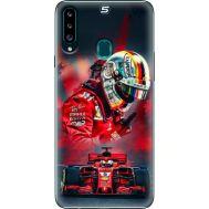 Силиконовый чехол BoxFace Samsung A207 Galaxy A20s Racing Car (38125-up2436)