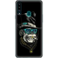 Силиконовый чехол BoxFace Samsung A207 Galaxy A20s Rich Monkey (38125-up2438)
