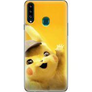 Силиконовый чехол BoxFace Samsung A207 Galaxy A20s Pikachu (38125-up2440)