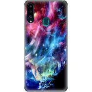 Силиконовый чехол BoxFace Samsung A207 Galaxy A20s Northern Lights (38125-up2441)