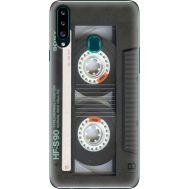 Силиконовый чехол BoxFace Samsung A207 Galaxy A20s Старая касета (38125-up2445)
