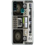 Силиконовый чехол BoxFace Samsung A207 Galaxy A20s Old Boombox (38125-up2446)