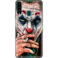 Силиконовый чехол BoxFace Samsung A207 Galaxy A20s Джокер (38125-up2448)