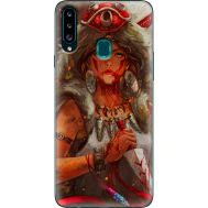 Силиконовый чехол BoxFace Samsung A207 Galaxy A20s Принцесса Мононоке (38125-up2451)