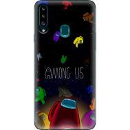 Силиконовый чехол BoxFace Samsung A207 Galaxy A20s Among Us (38125-up2456)