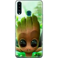 Силиконовый чехол BoxFace Samsung A207 Galaxy A20s Groot (38125-up2459)