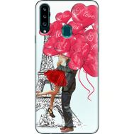 Силиконовый чехол BoxFace Samsung A207 Galaxy A20s Love in Paris (38125-up2460)