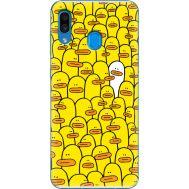Силиконовый чехол BoxFace Samsung A305 Galaxy A30 Yellow Ducklings (36416-up2428)
