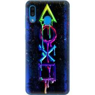 Силиконовый чехол BoxFace Samsung A305 Galaxy A30 Graffiti symbols (36416-up2432)