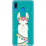Силиконовый чехол BoxFace Samsung A305 Galaxy A30 Cold Llama (36416-up2435)