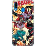 Силиконовый чехол BoxFace Samsung A305 Galaxy A30 Deadpool and Mary Jane (36416-up2454)