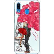 Силиконовый чехол BoxFace Samsung A305 Galaxy A30 Love in Paris (36416-up2460)