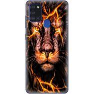 Силиконовый чехол BoxFace Samsung A217 Galaxy A21s Fire Lion (40006-up2437)