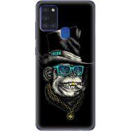 Силиконовый чехол BoxFace Samsung A217 Galaxy A21s Rich Monkey (40006-up2438)
