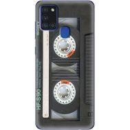Силиконовый чехол BoxFace Samsung A217 Galaxy A21s Старая касета (40006-up2445)
