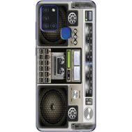 Силиконовый чехол BoxFace Samsung A217 Galaxy A21s Old Boombox (40006-up2446)