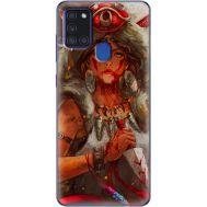 Силиконовый чехол BoxFace Samsung A217 Galaxy A21s Принцесса Мононоке (40006-up2451)