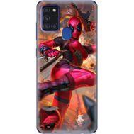 Силиконовый чехол BoxFace Samsung A217 Galaxy A21s Woman Deadpool (40006-up2453)