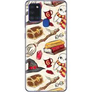 Силиконовый чехол BoxFace Samsung A217 Galaxy A21s Magic Items (40006-up2455)