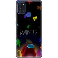 Силиконовый чехол BoxFace Samsung A217 Galaxy A21s Among Us (40006-up2456)