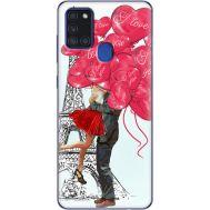Силиконовый чехол BoxFace Samsung A217 Galaxy A21s Love in Paris (40006-up2460)