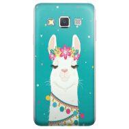 Силиконовый чехол BoxFace Samsung A300 Galaxy A3 Cold Llama (24491-up2435)