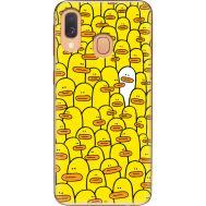Силиконовый чехол BoxFace Samsung A405 Galaxy A40 Yellow Ducklings (36707-up2428)