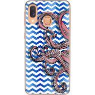 Силиконовый чехол BoxFace Samsung A405 Galaxy A40 Sea Tentacles (36707-up2430)
