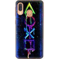Силиконовый чехол BoxFace Samsung A405 Galaxy A40 Graffiti symbols (36707-up2432)
