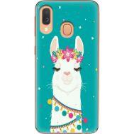 Силиконовый чехол BoxFace Samsung A405 Galaxy A40 Cold Llama (36707-up2435)