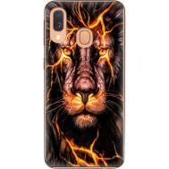 Силиконовый чехол BoxFace Samsung A405 Galaxy A40 Fire Lion (36707-up2437)