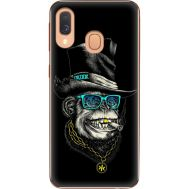 Силиконовый чехол BoxFace Samsung A405 Galaxy A40 Rich Monkey (36707-up2438)