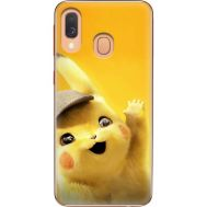 Силиконовый чехол BoxFace Samsung A405 Galaxy A40 Pikachu (36707-up2440)