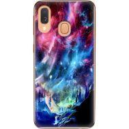 Силиконовый чехол BoxFace Samsung A405 Galaxy A40 Northern Lights (36707-up2441)