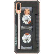 Силиконовый чехол BoxFace Samsung A405 Galaxy A40 Старая касета (36707-up2445)