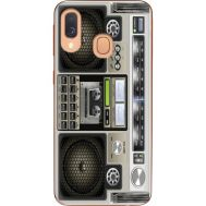 Силиконовый чехол BoxFace Samsung A405 Galaxy A40 Old Boombox (36707-up2446)