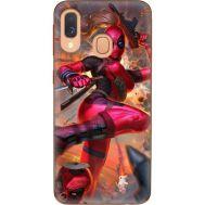 Силиконовый чехол BoxFace Samsung A405 Galaxy A40 Woman Deadpool (36707-up2453)
