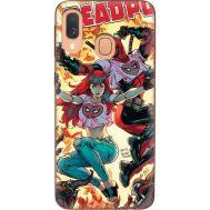 Силиконовый чехол BoxFace Samsung A405 Galaxy A40 Deadpool and Mary Jane (36707-up2454)