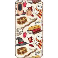 Силиконовый чехол BoxFace Samsung A405 Galaxy A40 Magic Items (36707-up2455)